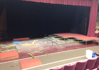 Case Study 4 – Theatre upgrade at HMS Raleigh